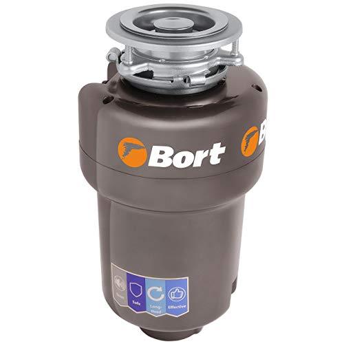 Dissipatore di Rifiuti Bort Titan 5000 (Control), 560 W, macinino in acciaio inox (1400 ml), tecnologia a tre livelli di macinatura, interruttore senza fili, super silenzioso (56 db)